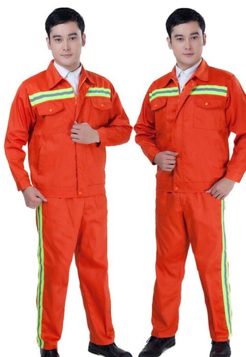 夏季工作服 棉工作服 物业工作服