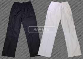 春夏季宽松直筒休闲卫裤男 大码针织运动裤薄款长裤